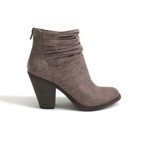 Fergalicious Wicket Taupe Ankle Boots